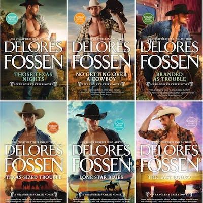 WRANGLER'S CREEK Western Romance Series by Delores Fossen...