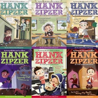 HANK ZIPZER Childrens Series by Henry Winkler Set of...