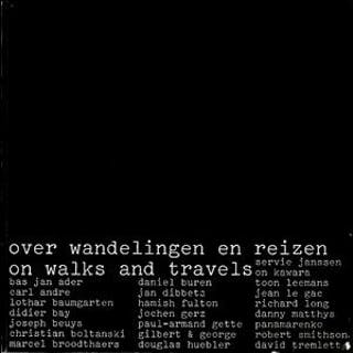 Over wandelingen en reizen / on walks and travels Ader Bas Jan