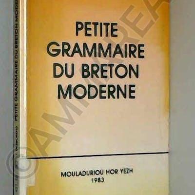 Petite grammaire du breton moderne Yann Desbordes