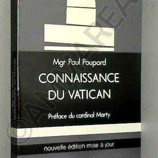 Broché - Connaissance du vatican Monseigneur Poupard (présente)