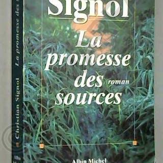 La promesse des sources / Signol, Christian / Réf53464 Christian Signol