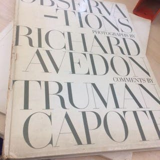 Observations Photographs by Richard Avedon Richard Avedon Truman Capote