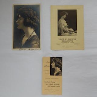 Lois F. Dyson: Violinist - Teacher. Lois F. Dyson (subject)