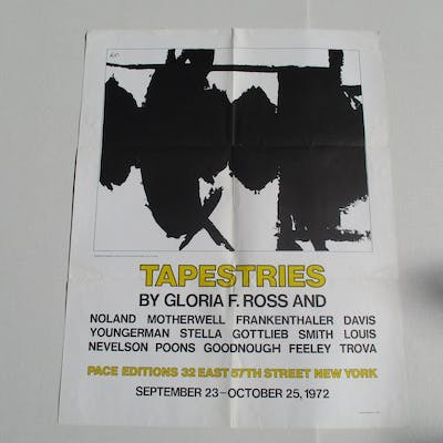 Tapestries by Gloria F Ross and Robert Motherwell (Image)
