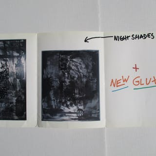 Robert Rauschenberg: Night Shades & New Gluts Rauschenberg, Robert Ephemera