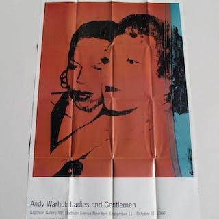Andy Warhol : Ladies and Gentleman Warhol, Andy Ephemera