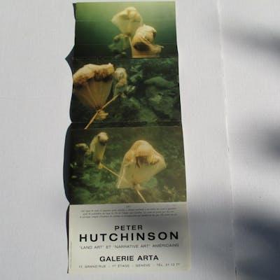 Peter Hutchinson: Land Art et Narrative Art Americains Hutchinson