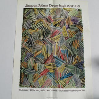 Jasper Johns Drawings 1970-80 Johns, Jasper Ephemera