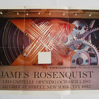 James Rosenquist Rosenquist, James Ephemera