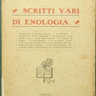 Scritti vari di enologia Cettolini Sante Gastronomia ed...
