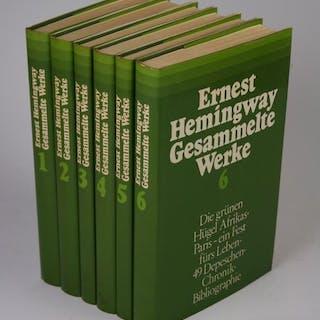 Gesammelte Werke in sechs Bänden Hemingway, Ernest: Literatur 20. Jh.