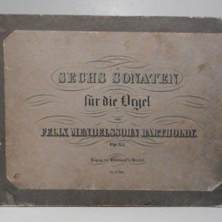 Sechs Sonaten für die Orgel