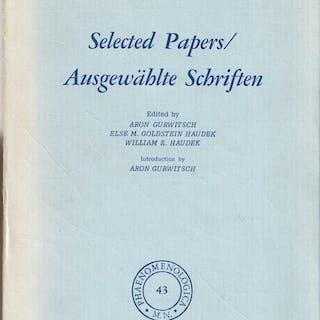 Selected Papers. Ausgewählte Schriften. Goldstein, Kurt Varia