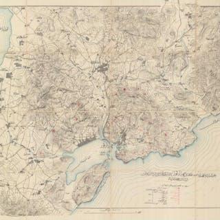 CHINA – DALIAN / OTTOMAN MAP / SIEGE OF PORT ARTHUR...