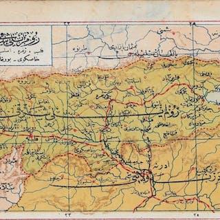 Bulgaria Mehmet ESREF (ESHREF) MAPS & PRINTS
