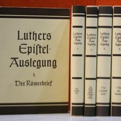 Martin Luthers Epistel-Auslegung