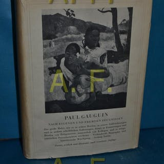 Paul Gauguin nach eigenen und fremden Zeugnissen Graber, Hans: 1-VARIA