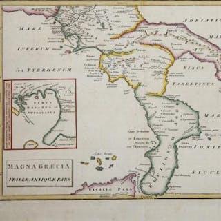 Magna Graecia Italiae Antiquae Pars Christoph Cellarius...