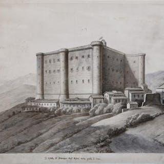 Il Castello di Bracciano degli Orsini dalla porta di...
