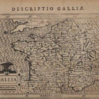 Gallia Jodocus HONDIUS II Europa,Europa Centrale,Gallia