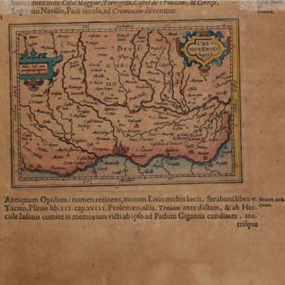 Cremonensis Ager Jodocus HONDIUS II Cremona,Italia,Lombardia