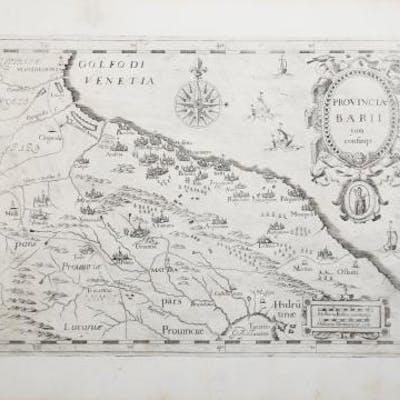 Provincia Barii cum confinijs Giovanni MONTECALERIO (da...