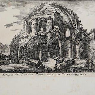 Tempio di Minerva Medica vicino à Porta Maggiore...