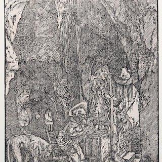 San Girolamo nella Grotta Albrecht ALTDORFER GERMAN...