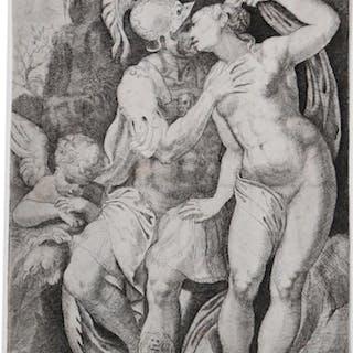 Marte e Venere Marco Angolo del Moro ITALIAN SCHOOL,SCUOLA ITALIANA,Secolo XVI