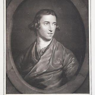 Ritratto di B. West William Pether ENGLISH SCHOOL,SCUOLA INGLESE,Secolo XVIII