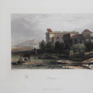 Paestum Albert Henry Payne Campania,Italia,Paestum