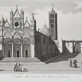 Veduta del Duomo di Siena in Toscana Francesco GANDINI Italia,Siena,Toscana