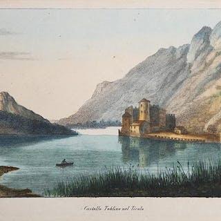 Castello Toblino nel Tirolo Agostino Perini Castel...