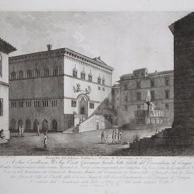 Prospetto del Palazzo Publico