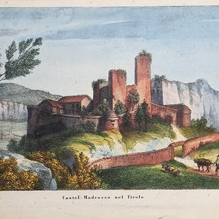 Castel-Madruzzo nel Tirolo Agostino Perini Castel...
