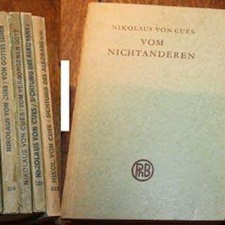 Konvolut von 14 Schriften meist aus dem Meiner Verlag...