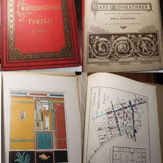 Pompejanische Wand-Decorationen Für Künstler und...
