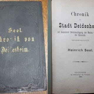 Chronik der Stadt Deidesheim mit besonderer...