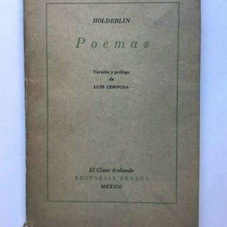 Poemas. Versión y prologo de Luis Cernuda. Holderlin