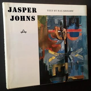 Jasper Johns Max Kozloff Art