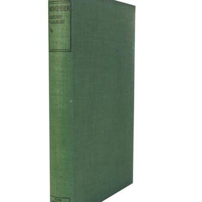 November Flaubert, Gustave Erotica,Literature & Classics