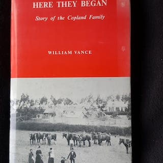 Here they began : story of the Copland family Vance