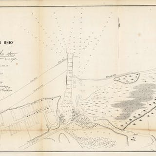 Ashtabula Harbor, Ohio, 1854