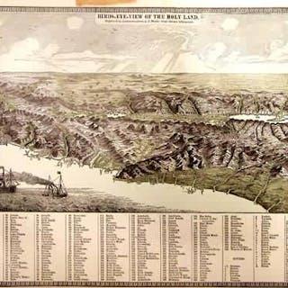 Birds-Eye View of the Holyland