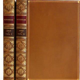 Rousseau [2 volumes] [Rousseau, Jean Jacques] Morley, John Rare Philosophy