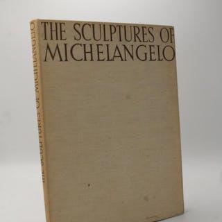 The Sculptures of Michelangelo. Goldscheider, Ludwig
