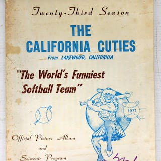 The California Cuties Official Picture Album and Souvenir...