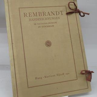 Rembrandt Handzeichnungen im National-Museum zu Stockholm REMBRANDT Art