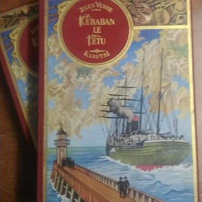 Keraban le têtu suivi de face au drapeau - Jules Verne - Tome 1 et 2